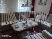 Wohnzimmermöbel Sofa Rundecke Sessel Tisch