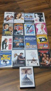 17 original VHS Filme guter