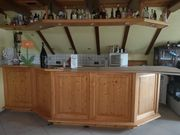 Komplette Bar und Küchenzeile Eckbank