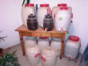Marken-Weinfässer aus Kunstsoff gebraucht