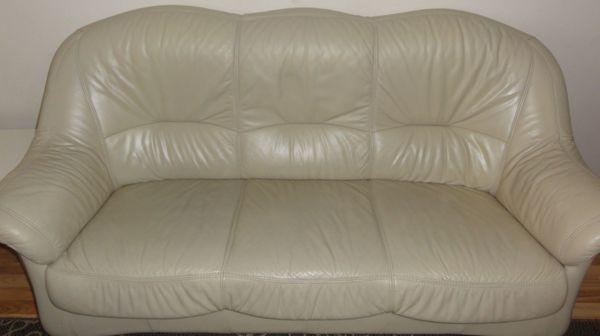 Ledercouch 3 2 1 Sitzer In Mannheim Polster Sessel Couch Kaufen