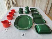 Wächtersbach Keramik Lifestyle in rot