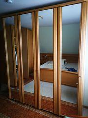 Komplettes Schlafzimmer Holz
