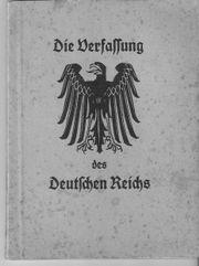Reichsverfassung