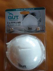 Staubmasken FFP2 NR 3x3