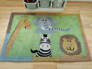 Kinderzimmerteppich Zoo Zootiere BonPrix 177x120