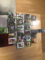 Xbox 360 mit ca 22Spielen