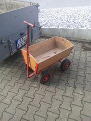 Bollerwagen im gebrauchten Zustand