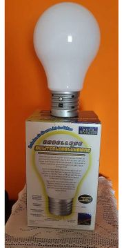 LED Lampe verschiedene Farben neu