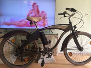 E-Bike -Elektrofahrrad Beachcruiser - Aluminium