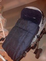 Winter Fußsack für Kinderwagen Kinderfußsack