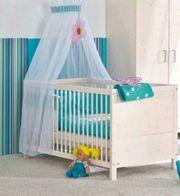 PAIDI Babybett umbaubar auf Kinderbett