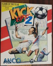 Kick Off 2 Commodore - Diskette
