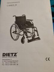 Dietz Caneo Rollstuhl