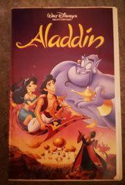 Disneys Aladdin VHS