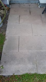Terassenplatten ca 16 qm zu