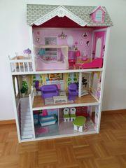 Großes Puppenhaus für Barbie Puppen