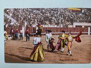 historische Postkarten aus der Stierkampfarena