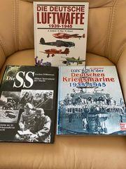 Militaria Bücher Konvolut über WK2