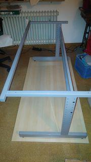 Schreibtischgestell ohne Platte