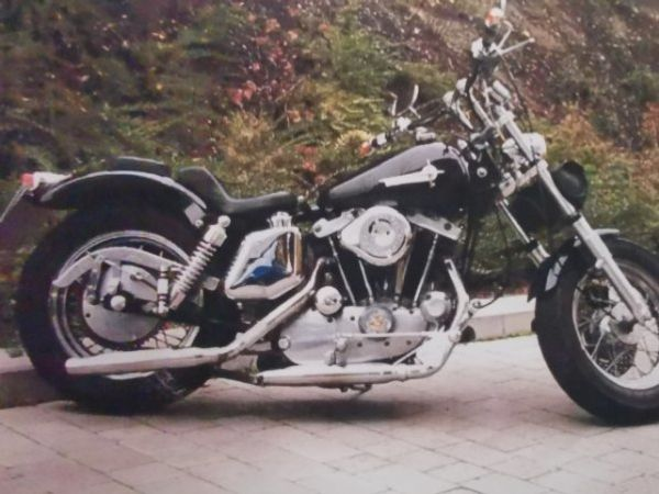 HD Ironhead XLH 1000 Bj