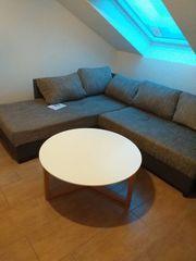 Couch Schlafsofa Wohnlandschaft L-Form Polsterecke