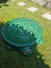 Sandkiste Schildkröte Schaukel Bagger Sandkastenspielzeug