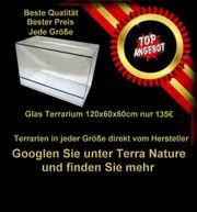 Terrarium 120x60x60cm Sonderanangebot