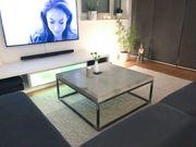 80x80cm Betontisch Couchtisch Wohnzimmertisch Beistelltisch