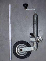Winterhoff Anhänger-Stützrad 150kg 48mm Rohr