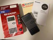 Sharp Taschenrechner