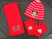 Disney Minnie Mouse Mütze Schal