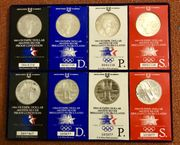 8x Olympic Dollar USA 1983