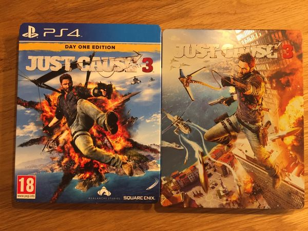 PS4 Just cause