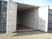 Lager-Garage-Container - Archiv Miniwerkstatt mit Licht