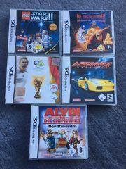Nintendo DS Spiele - 5 Stück