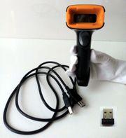 Wireless Funk Barcode Scanner QR