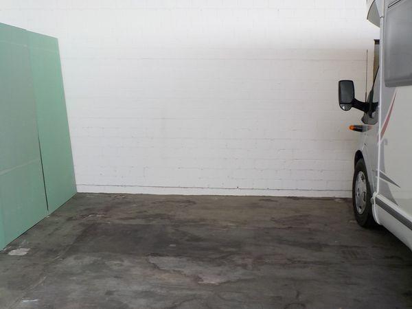 Stellplatz für Wohnmobil WoWa Motorrad