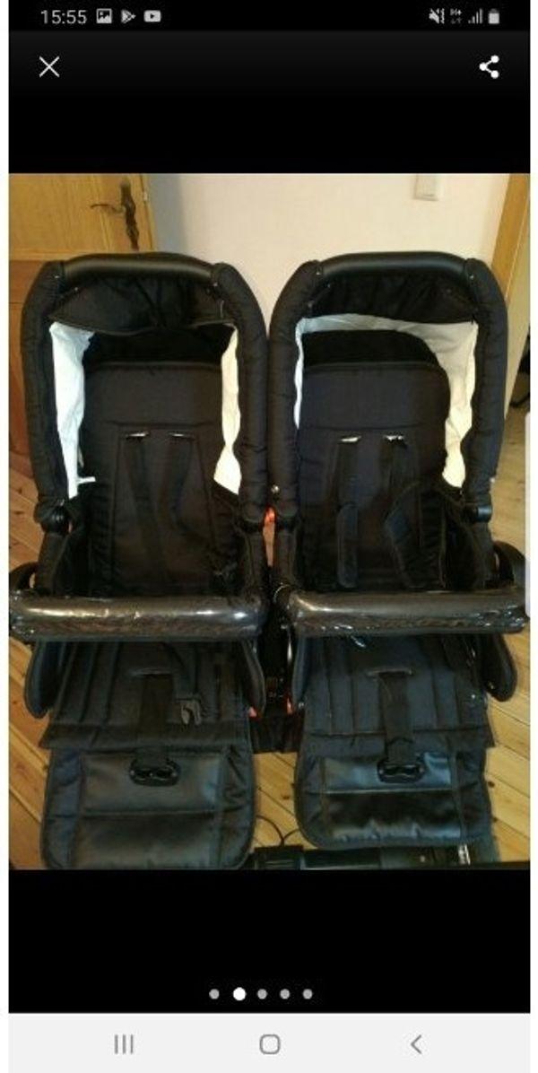Zwillings Geschwisterkinderwagen