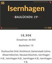 Baulücken in Isernhagen