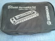 Hohner Blues Harmonica Set