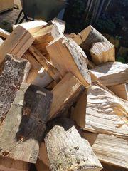 Brennholz Hartholz Esche im Woodbag