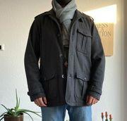 Kurzmantel Jacke aus Wolle für