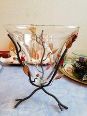 Verschiedene Glas Vasen