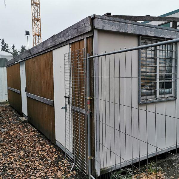 Container Riedhütte Clubheim Lagercontainer