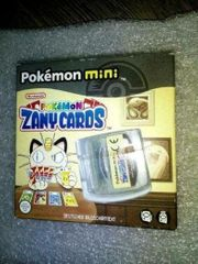 Zany Cards Pokemon Mini Top