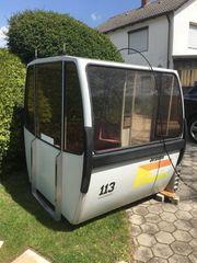6- er Fleckalmbahn -Gondel Seilbahn