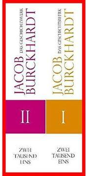 JACOB BURCKHARDT 8 Bde