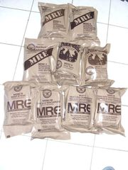 9 Rationen MRE