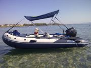 Norisboat Blueline 380 Aluboden mit